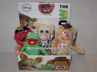 MUPPETS Nicotoy Europe Muppet Show Movie Set of 4 Dolls Animal Kermit Piggy