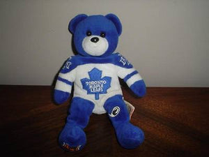 Authentic Toronto Maple Leafs Hockey Bear