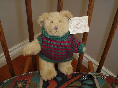 Russ Bears From The Past  809 Jointed Handmade Wtags