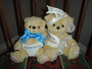 Cherished Teddies 1999 Old & New Year Millennium Bears