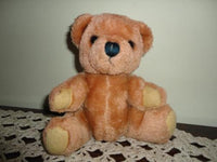 Dakin 1981 Vintage Little Baby Bear Ground Nutshells Cute Face