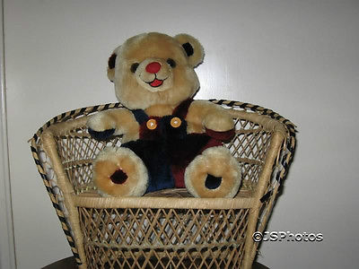 German Teddy Bear Eifa Quakenbrueck RARE 26 Cm 10 inch
