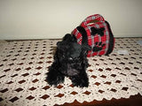 Animal Alley Toys R Us Black Scottish Terrier Plush in Dog Case 6 Inch
