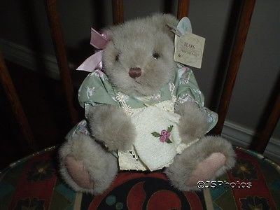 Russ Bears From The Past Amanda Bear 1804 Handcrafted