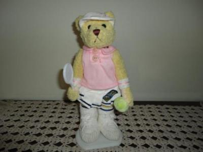 "Brass Button Pickford Sports Bears TENNIS "" Missy """
