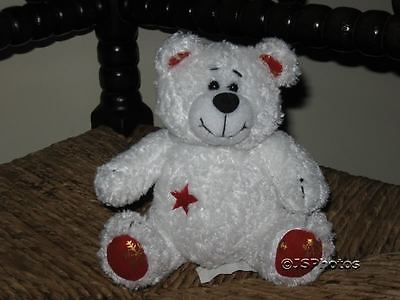 David Halsall International UK White Christmas Bear
