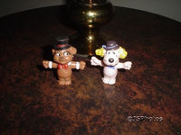 Pound Puppies Set of Two Rubber Character Figures