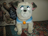 Disney POCAHONTAS PERCY Sitting Dog Stuffed Plush Toy