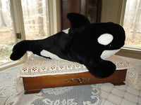 Sea World Orca Killer Whale Stuffed Plush 20 inch
