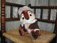 Euro Disney France Chip n Dale Soft Plush 26 CM
