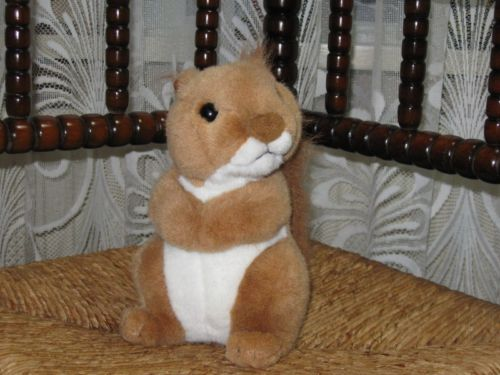 Anna Club Plush Holland Soft Squirrel Toy 8 Inch 20 CM Europe Exclusive