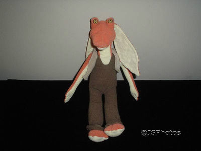 Star Wars Phantom Menace Jar Jar Binks Stuffed Doll