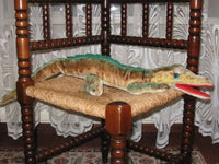 Hermann Germany Mohair Gaty Crocodile 27.5 Inch RARE Over 2 Ft