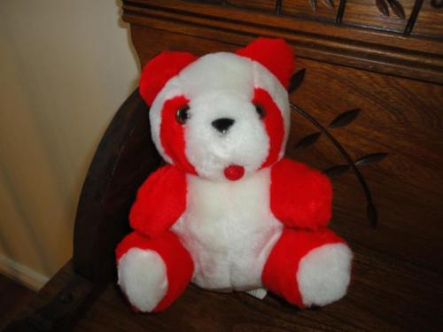 Antique Red and White Tongue Bear Best Made Toys Toronto