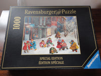Ravensburger Puzzle Canada Artist Pauline Paquin My Snow Filled Boots 1000pc '98