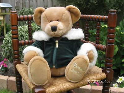Harrods Large Foot Dated Christmas Bear 2001