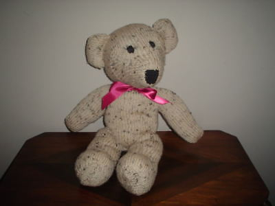 Handmade Knitted Bear Large 19 Inch Very RARE