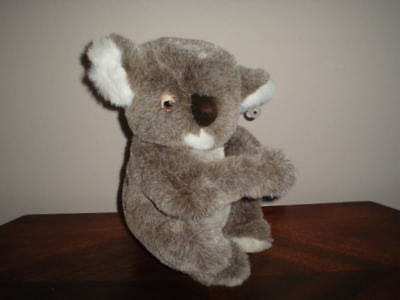 Dakin Vintage 1989 Koala Bear Stuffed Plush