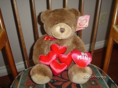 Fiesta Teddy Bear 1998 Asst Color Bears V01064 11Inch