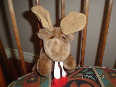 "Ganz The Original Canadian Moose 7"" Plush Vintage 1984"