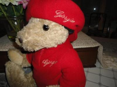 Giorgio Beverly Hills Bear 2003 Exclusive Herrington UK