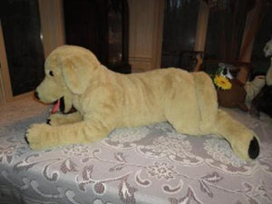 IKEA Sweden GOLDEN RETRIEVER DOG JUMBO 70cm 27.5 inch