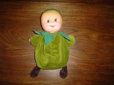 Cabbage Head Rubber Doll Velvet Body VHTF