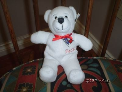 Texas Lone Star State White Bear Symbolz 2001