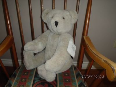 Vermont Teddy Bear Co 20 Inch Vintage 1987 Jointed Tags