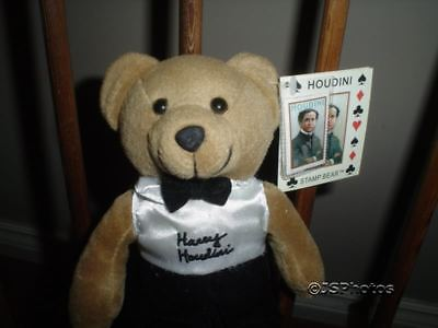 Harry Houdini Collectible Stamp Bear 2002 USPS