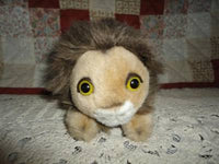 Bauer Nurnberg Germany LION Plush Toy Rare Retired