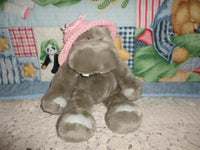 Pawsenclaws & Co HIPPO Handstuffed Plush 16 inch