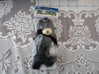 Ganz Black Bear Marionettes String Plush Puppet New in Bag 9 inch