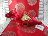 Douglas Cuddle Toy RUBY RED DRAGON Velvet Plush