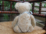 Antique Richard Diem Bear 30 CM White Mohair Fully Jointed 1930s Germany