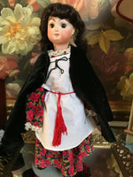 Estate of Canadian Doll Artist Joan Curtis Repro Jumeau Bisque Handmade '80