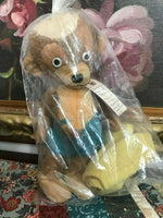 Antique 1930-57 Merrythought UK Mohair CHEEKY PUNKINHEAD BEAR Made for Eatons