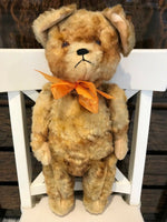 Antique 1930s German Hermann Sad Faced Puppy Dog Bear 21