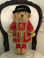 Merrythought Ironbridgeshrops UK Beefeater Guard Bear 16 inch Retired Vintage