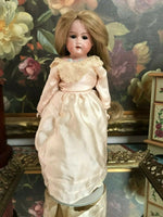 Antique 1930s Armand Marseille Doll Bisque Teeth Famous Lips Leather Body Rare
