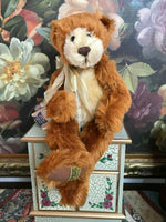 Merrythought UK Mohair PALEFACE Bear Design Oliver Holmes 16