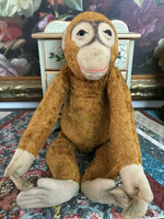 Antique German Schuco Hermann Orangutan Monkey 17