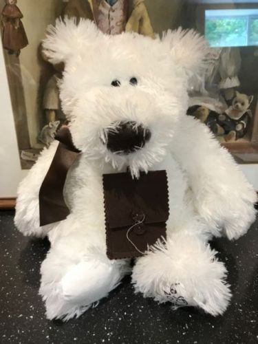 La Senza Lingerie 2006 James the Bear 14 inch Retired Hard to Find All Tags New