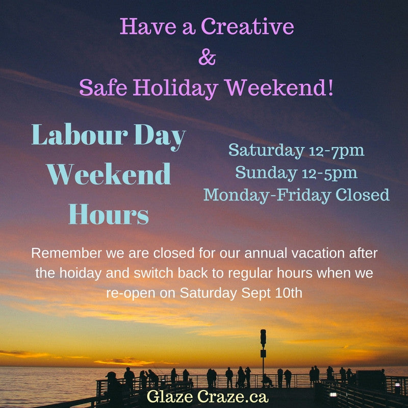 Labour Day Holiday Weekend Hours