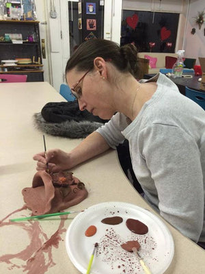Adult Clay Sculpting Party (Deposit)