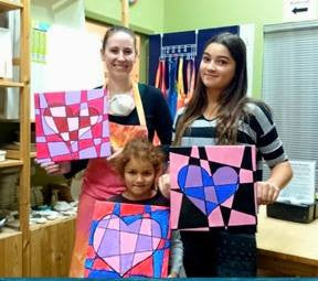Paint & Popcorn, Kids Canvas Workshop