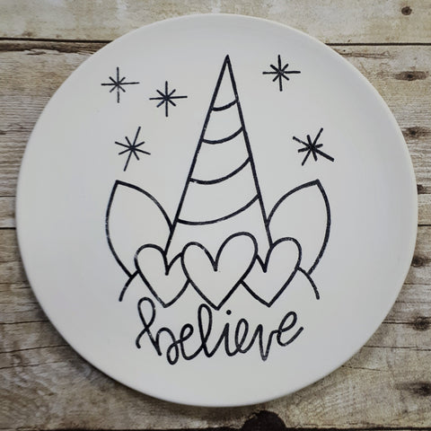 Ceramic Colouring Book Painting Party (Deposit)