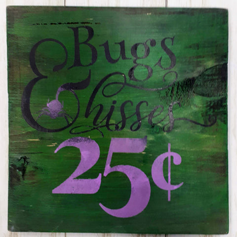 Bugs & Hisses Wood Art