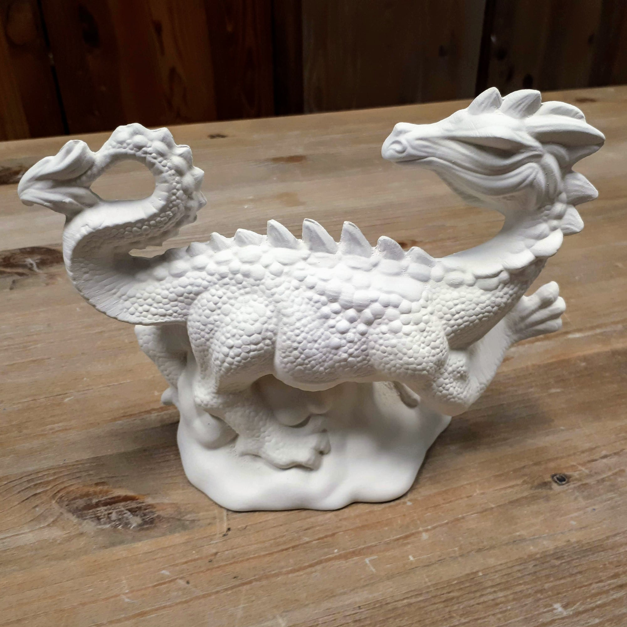 Walking Dragon Figurine