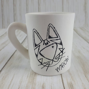 Cat Colouring Book Mug